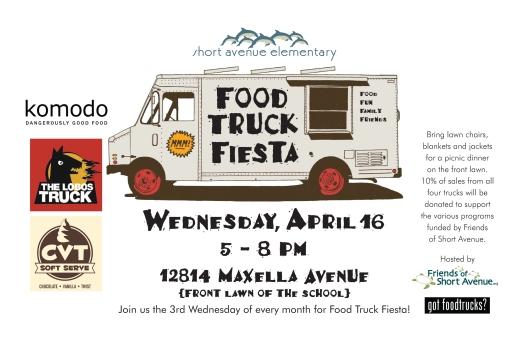 2014 Food Truck April