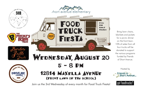 Food Truck Fiesta Aug 2014