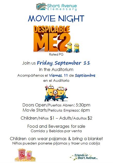 September Movie Night
