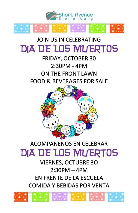 Dia de los Muertos Short Avenue Elementary School