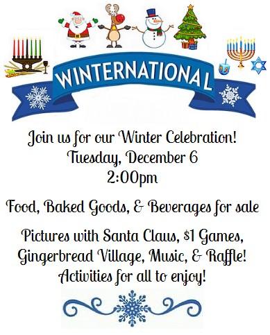Winternational Celebration