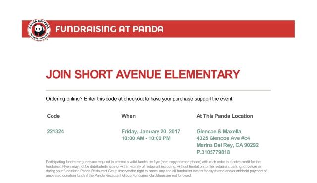 Panda Express Flyer