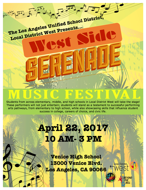 West Side Serenade Local District West