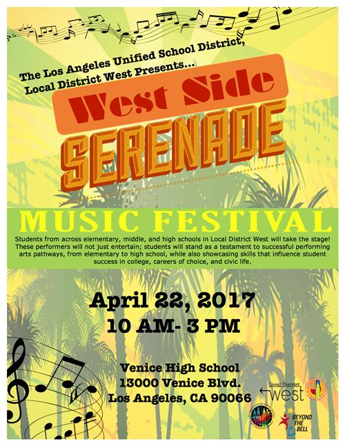 West Side Serenade Local District West