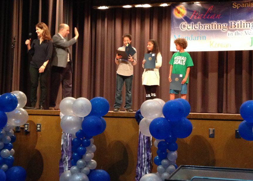 Celebrating Bilingualism LAUSD Annual Award