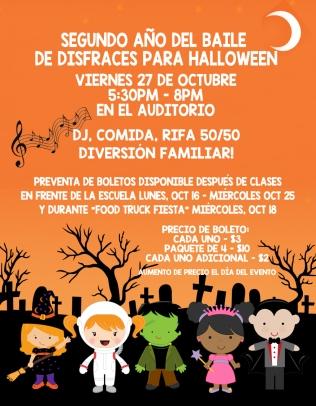 Halloween Poster SPANISH