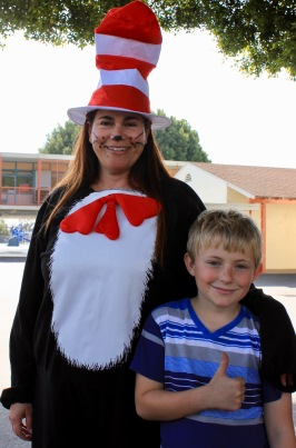 Cat in the Hat Tasha and Valentine   Dr Seuss Day
