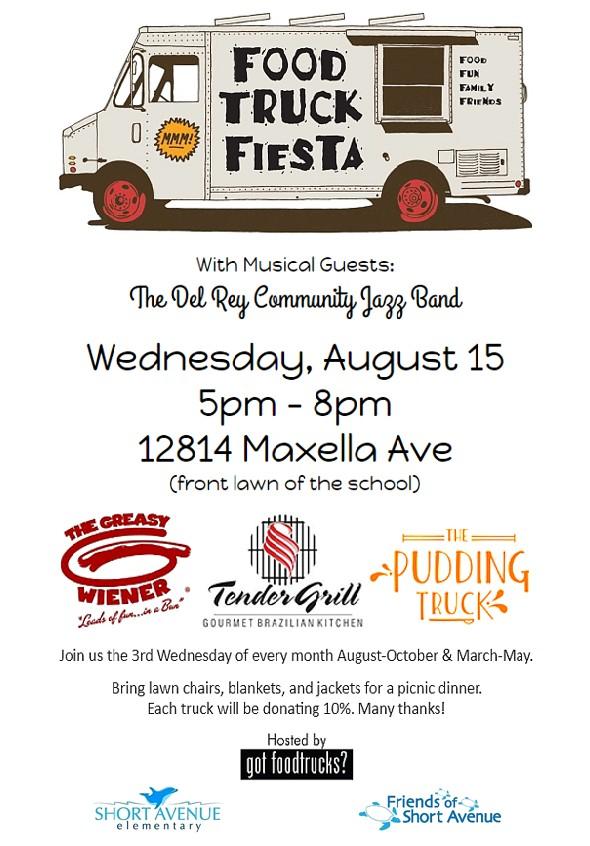 Food Truck Fiesta August 2018