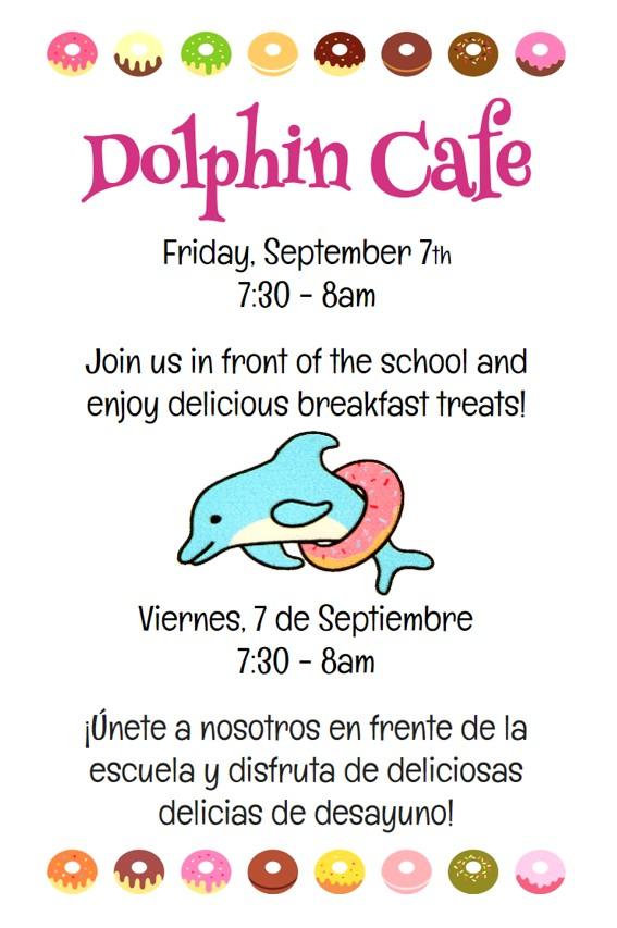 Dolphin Café September 2018