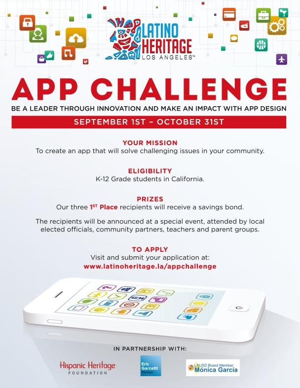 LA App Challenge Flyer 2018