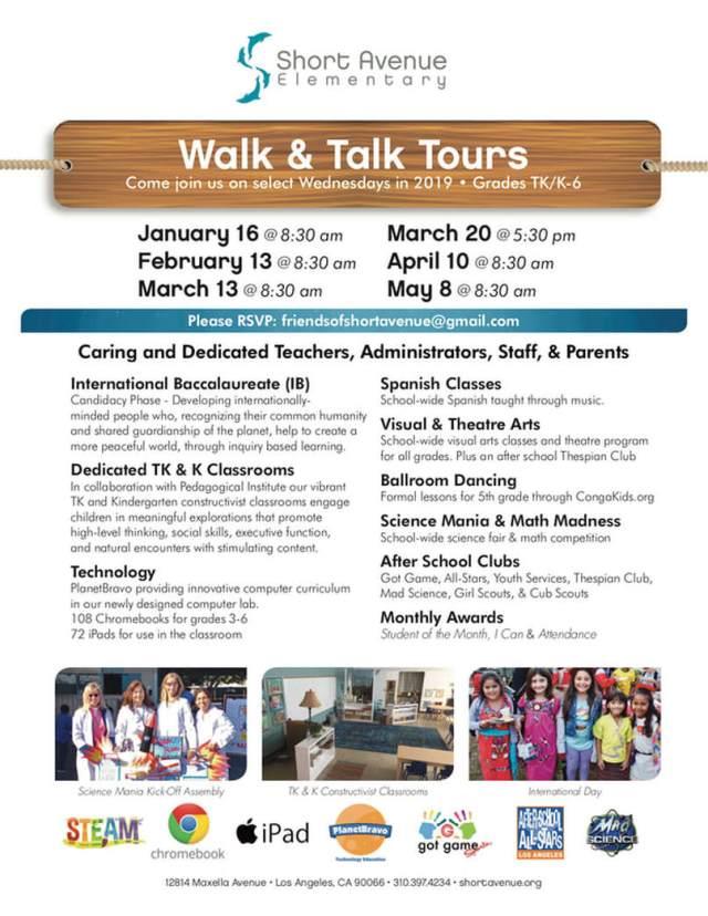 Walk & Talk 2018 Flyer