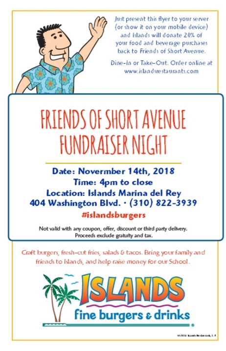Islands Fine Burgers and Drinks Fundraiser