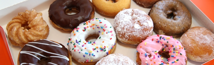 Los Angeles Road Runners Bake Sale Donuts