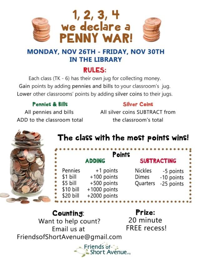Penny Wars Flyer original