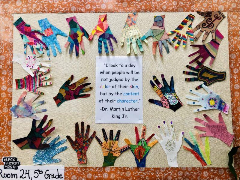 Short Avenue 5th grade celebrates MLK Day