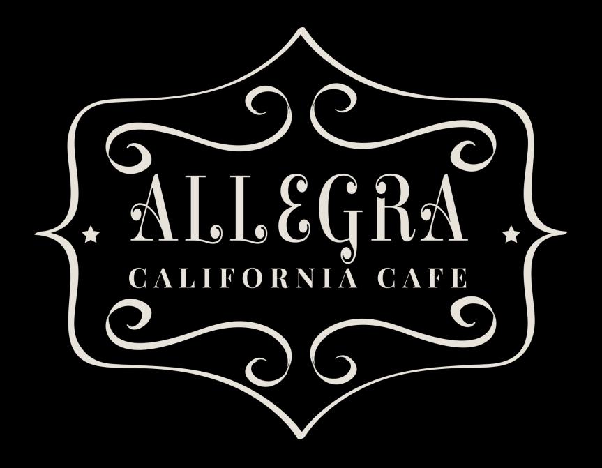 Allegra California Café Fundraiser –4/19-4/25